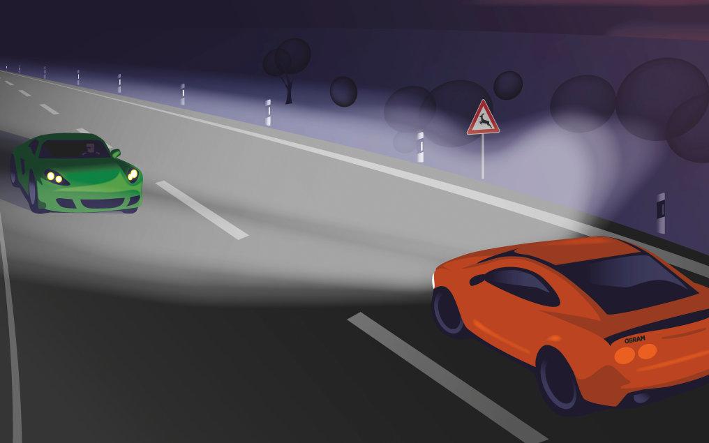 Neues Autolicht revolutioniert Sicherheit im Verkehr