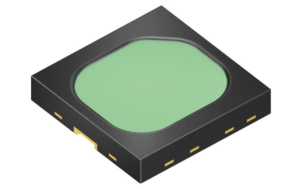 Osram Opto Semiconductors stellt mit der SFH 4735 die erste breitbandige Infrarot-LED vor. Hauptanwendung sind alltagstaugliche Nahinfrarot-Spektroskope, beispielsweise zur Prüfung von Lebensmitteln.