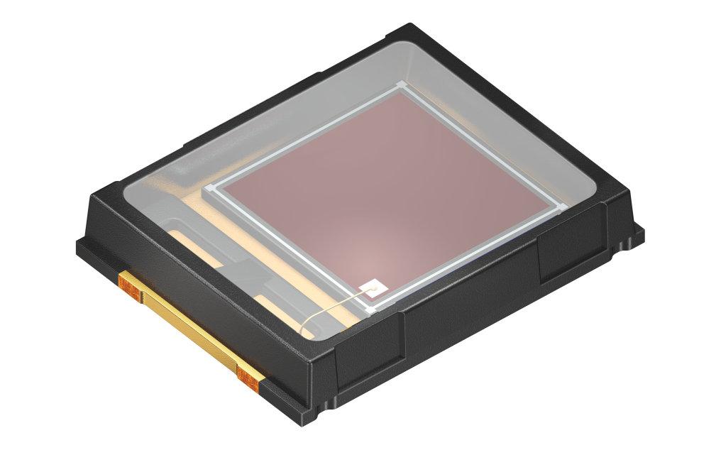 Platzsparender Photodetektor für Fitness-Sensoren