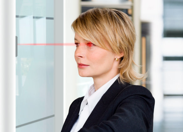 "Press release: ""Safety in focus: infrared LED for iris scanners protects against intruders"""