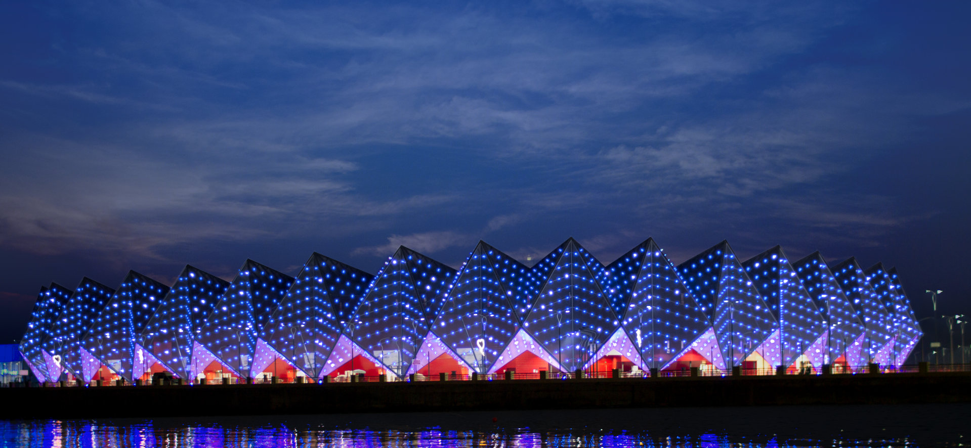 Beleuchtungslösungen für Sportstätten