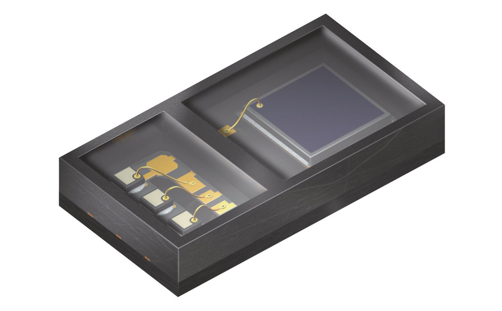Efficient sensor for wristband heart monitors (SFH 7051)