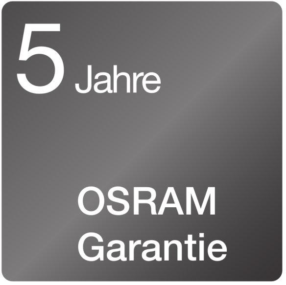 Bis zu 5 Jahre OSRAM-Garantie für den professionellen Beleuchtungsmarkt