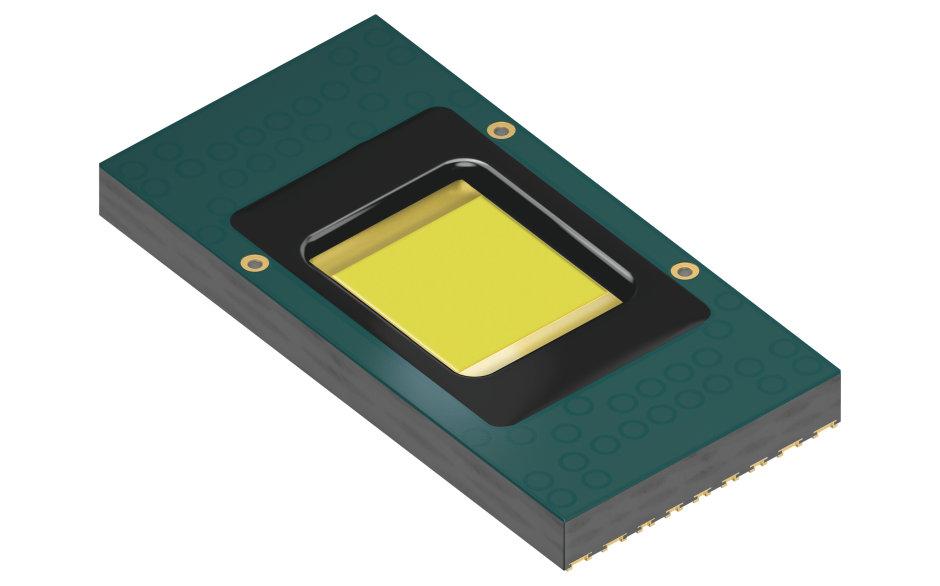 Die Hybrid-LED ermöglicht smartes Scheinwerferlicht mit über 1.000 einzeln ansteuerbaren Pixeln