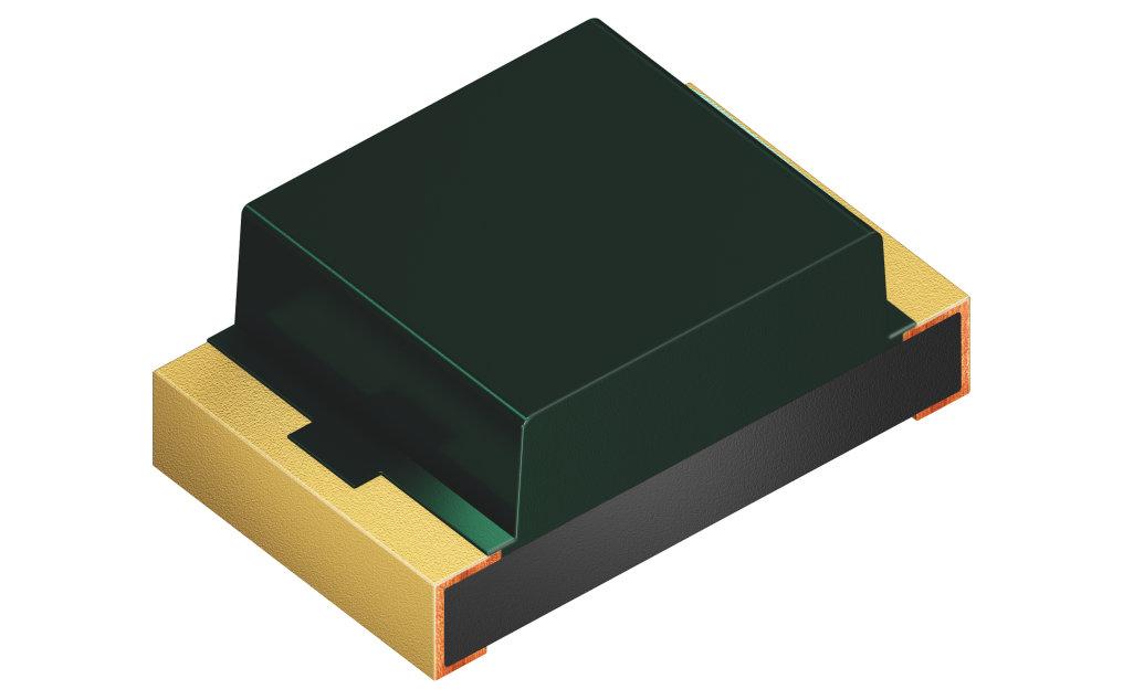 Der Ambient Light Sensor SFH 5701 A01 ist ein aktives Bauteil, dessen IC durch den Signalstrom versorgt wird und dadurch ohne gesonderte Stromversorgung auskommt.