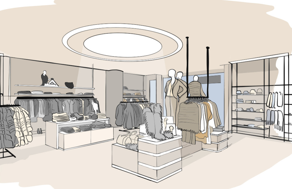 Design freedom: Discover our FLEX Systems for shop lighting