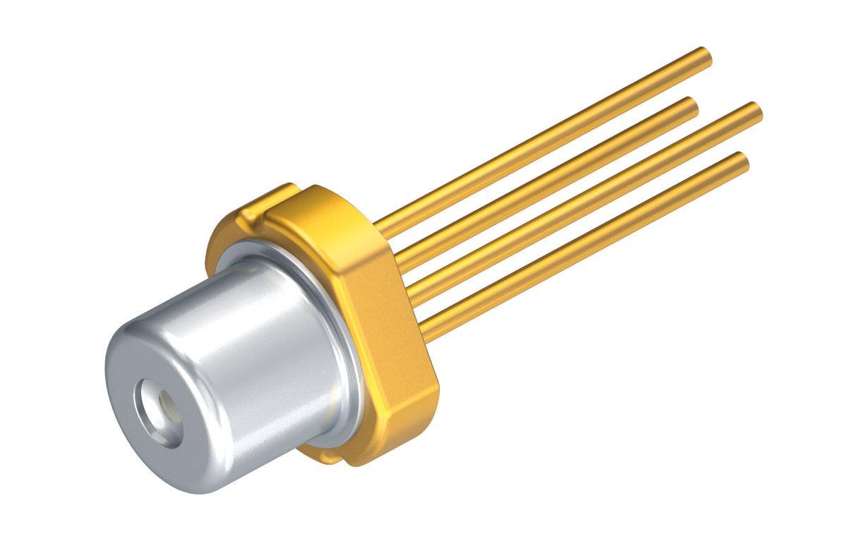 Die Single-Mode-Laserdiode ermöglicht mit 140 mW bei 300 mA im gepulsten Betrieb - eine bisher unerreicht hohe Leistung für grüne Laser.