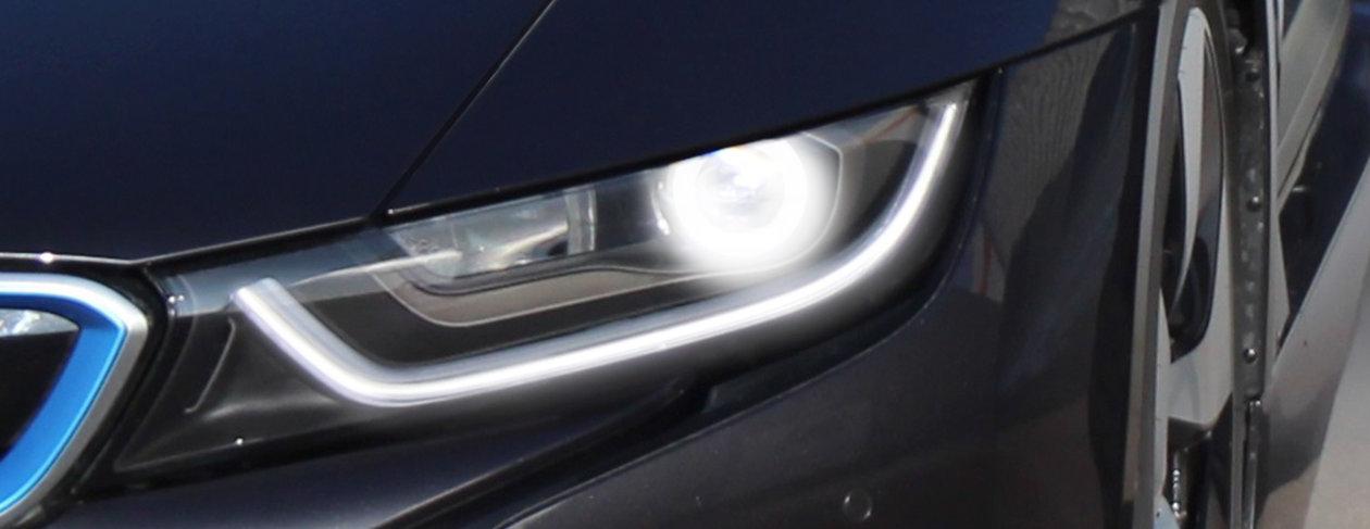 Laserlicht im BMW i8