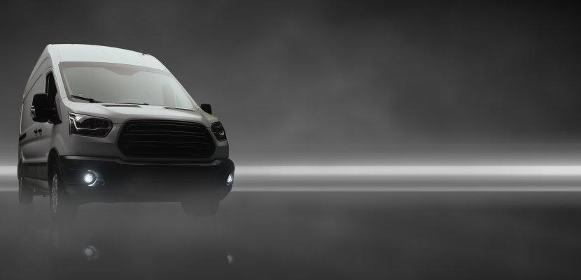 Nutzfahrzeug mit LED-Nebelscheinwerfern
