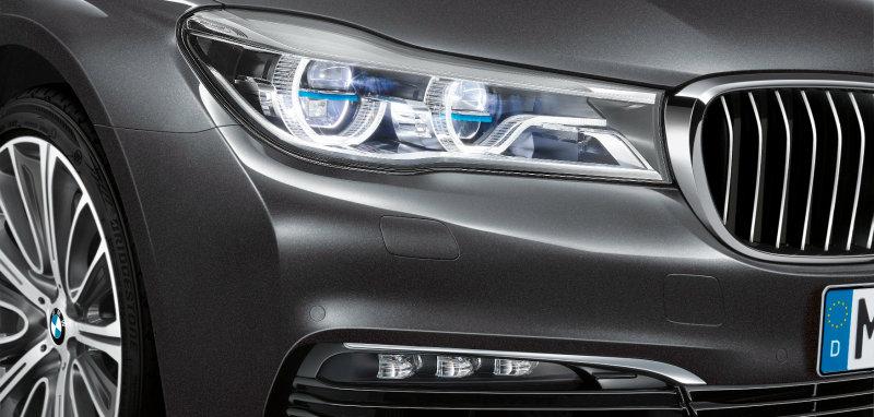 Laserlicht im neuen BMW 7