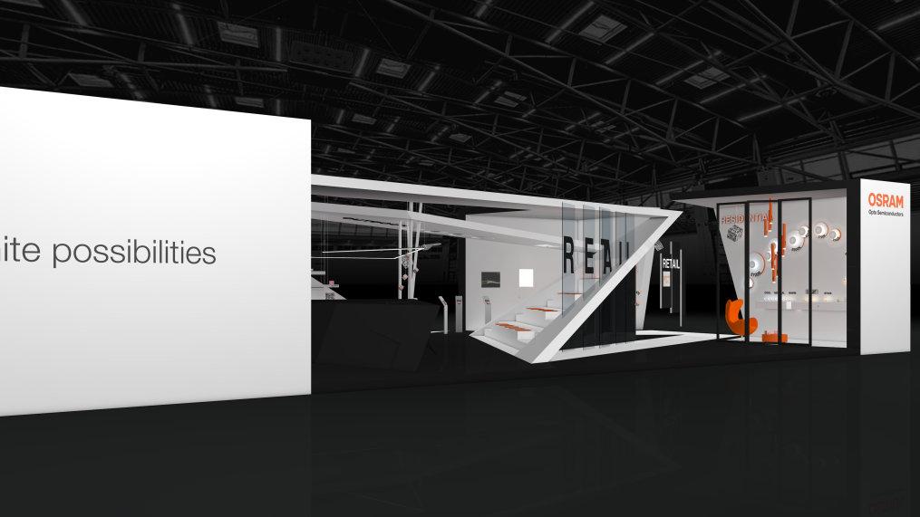 Unter dem Motto Start Something Bright zeigt Osram Opto Semiconductors auf der light + building 2018 innovative Licht-Technologien.
