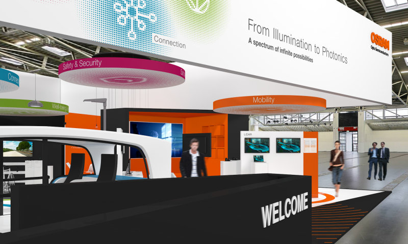 electronica 2018: With the motto From Illumination to Photonics Osram Opto Semiconductors demonstrates innovative lighting technologies.