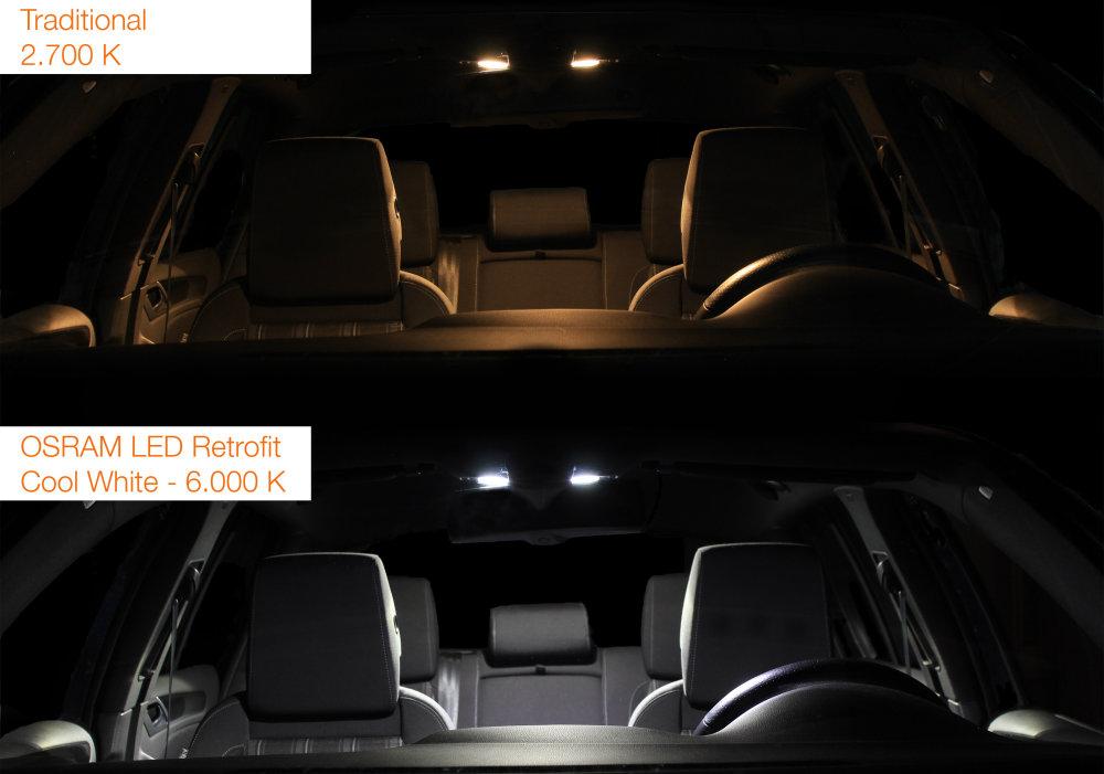 LEDriving LED retrofits Cool White