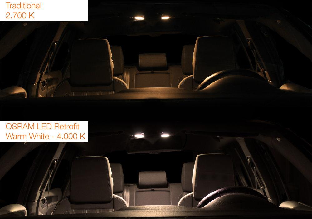 LEDriving LED retrofits Warm White