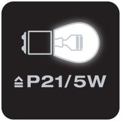 Equivalente a lámparas P21/5W