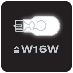 Replaces conventional W16W lamps