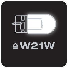 Equivalente a lámparas W21W