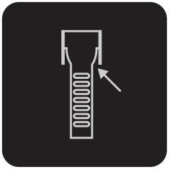 Нож для разрезания ремней безопасности