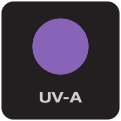 Equipped with UV-A light