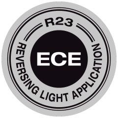 ECE jóváhagyott (ECE R23)