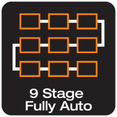 9-stage charging cycle