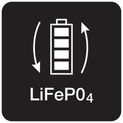 Bateria de fosfato de lítio (LiFePO4)