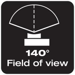 140°-os látószög