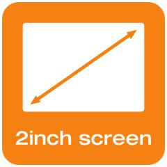 2-inch screen