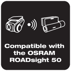 Compatible with the OSRAM ROADsight 50