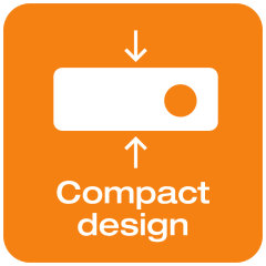 Compact design