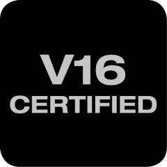 Certificado por V16