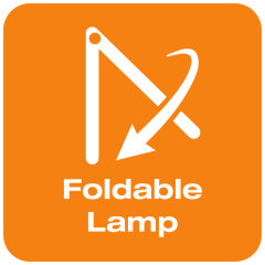 Lampe pliable