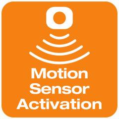 Activation par détecteur de mouvements