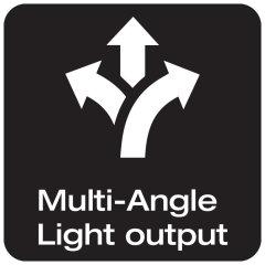 Emisión de luz multiángulo