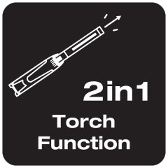 2 in 1 Function