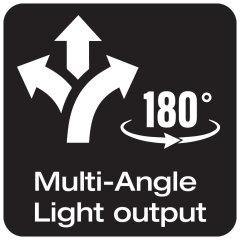 Faisceau lumineux multi-angle