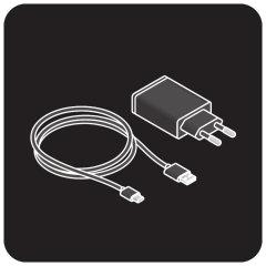 Cable USB y enchufe