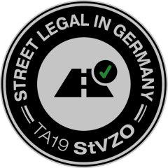 Street legal in Germany