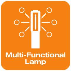 Lámpara multifuncional