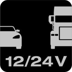 12V & 24V compatible