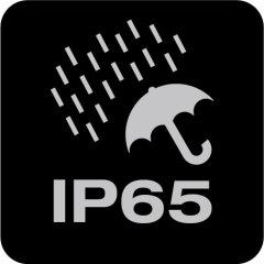 Protection class: IP65 & IK08