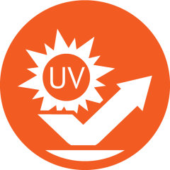 UVS (UV stop)