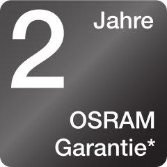 2 Jahre Osram Garantie<sup>3)</sup>