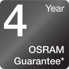 Reliable OSRAM quality stands for less lamp replacements