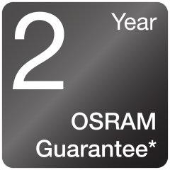 2-year OSRAM guarantee<sup>3)</sup>