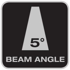 Beam angle 5°