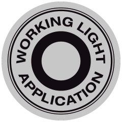 Applicazione luce da lavoro