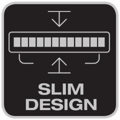 Diseño compacto de la carcasa
