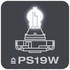 Replaces conventional PS19W lamps