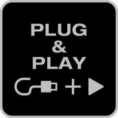 - Plug & Play